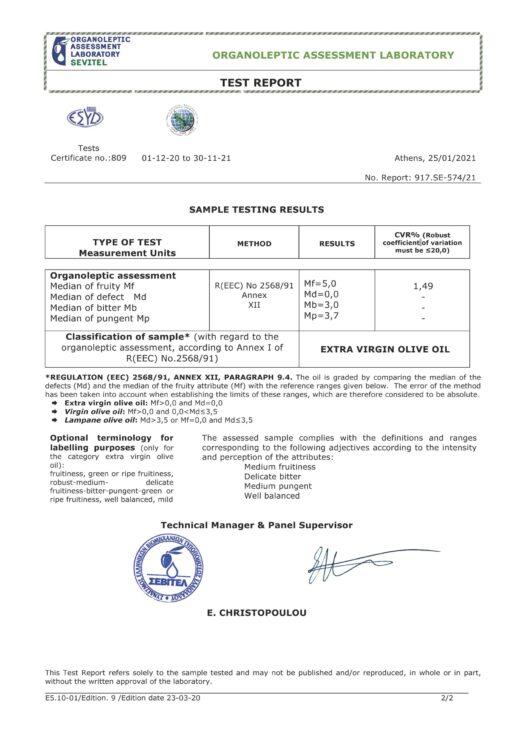SEVITEL TEST REPORT SE-574 THE OLIVE TEMPLE_Page_2